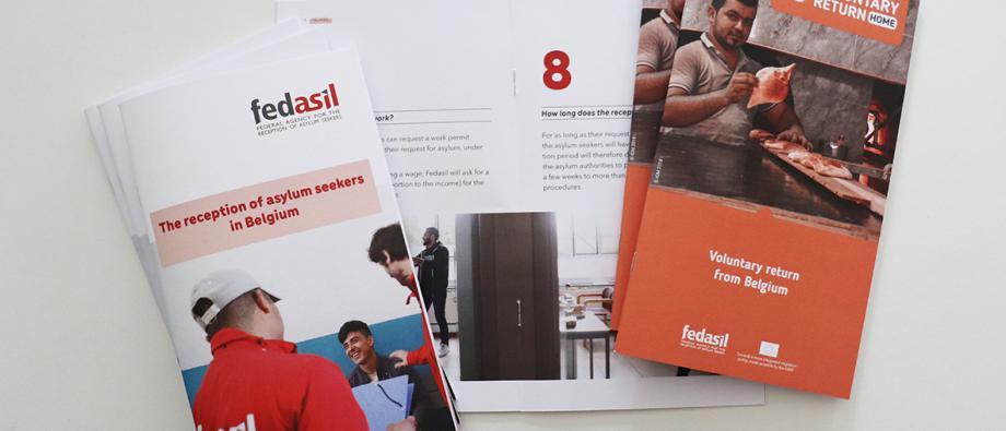 Brochures Fedasil