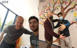 Akbar en Frederik in 20119 en opnieuw recent in 2021